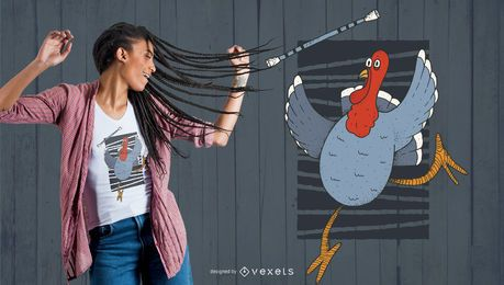 Turkey Baton Twirling t-shirt design