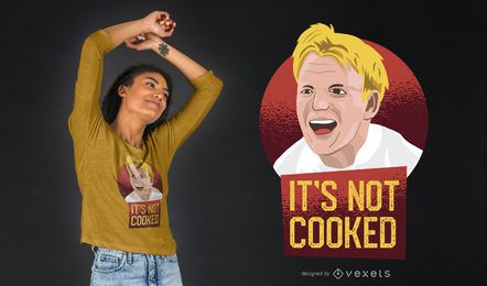 Gordon Ramsay t-shirt design
