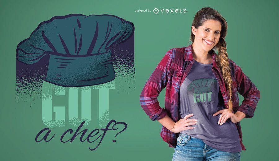 Got a chef t-shirt design