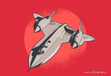 Ilustración de avión Lockheed