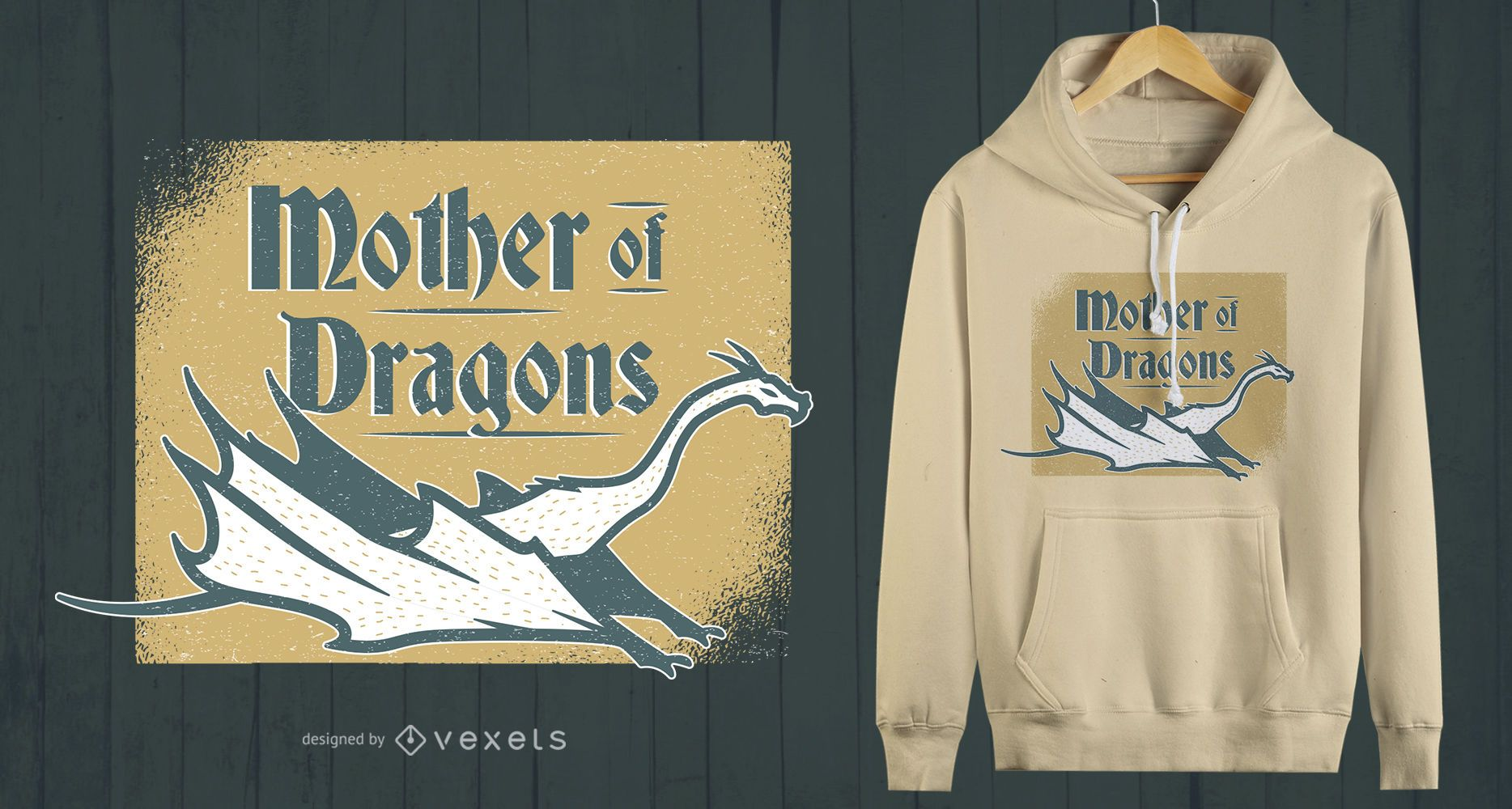 Mother of Dragons T-shirt Design