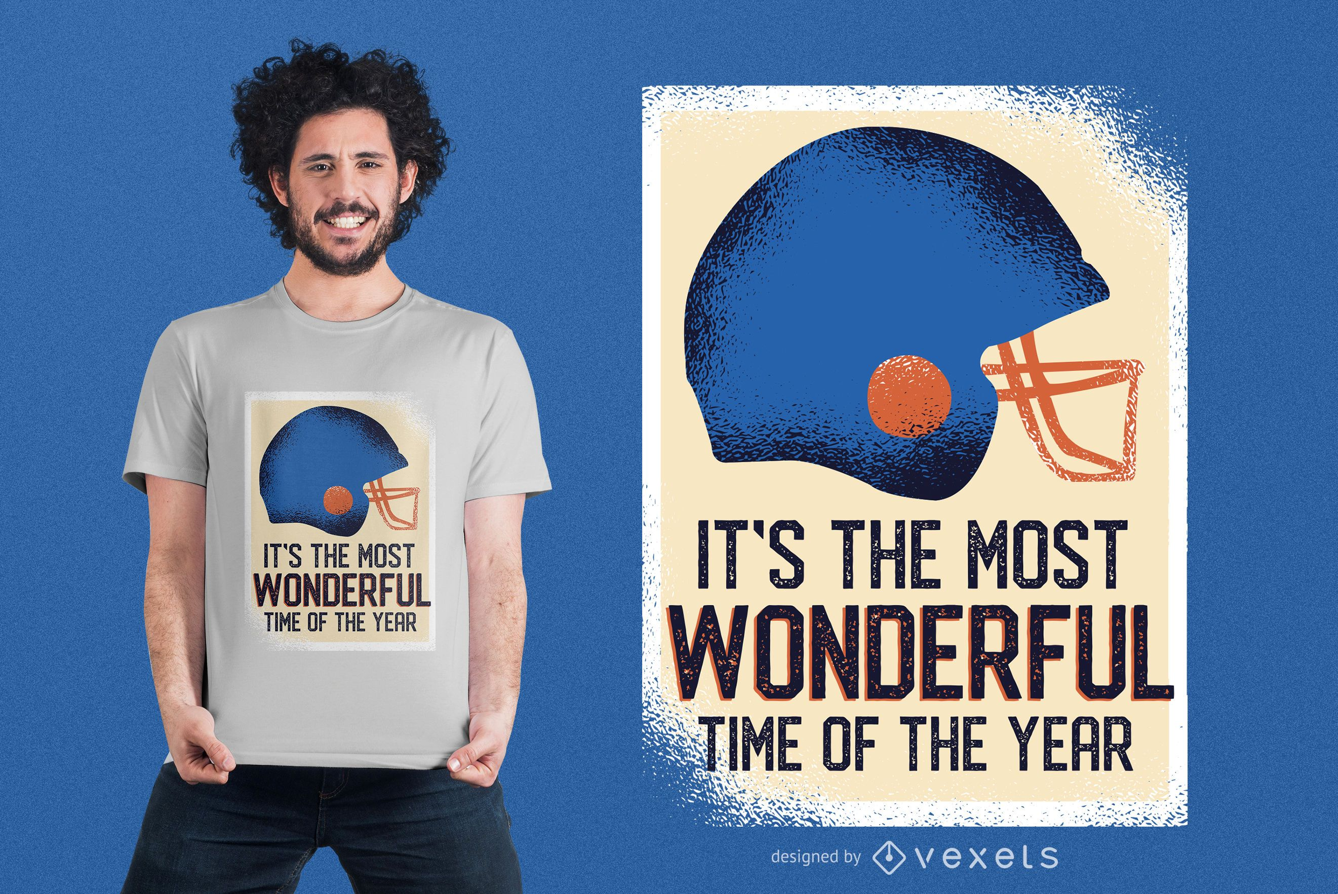 Football Funny Quote T-shirt Design