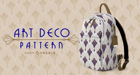 Patrón Art Deco clásico sin costuras