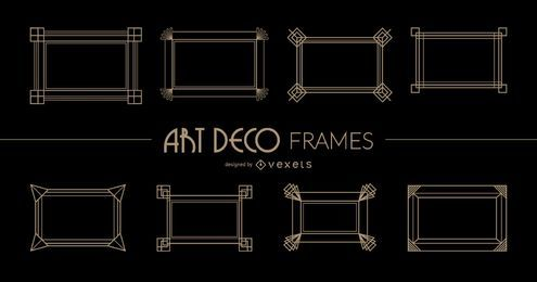 Rectangular Art Deco Frames