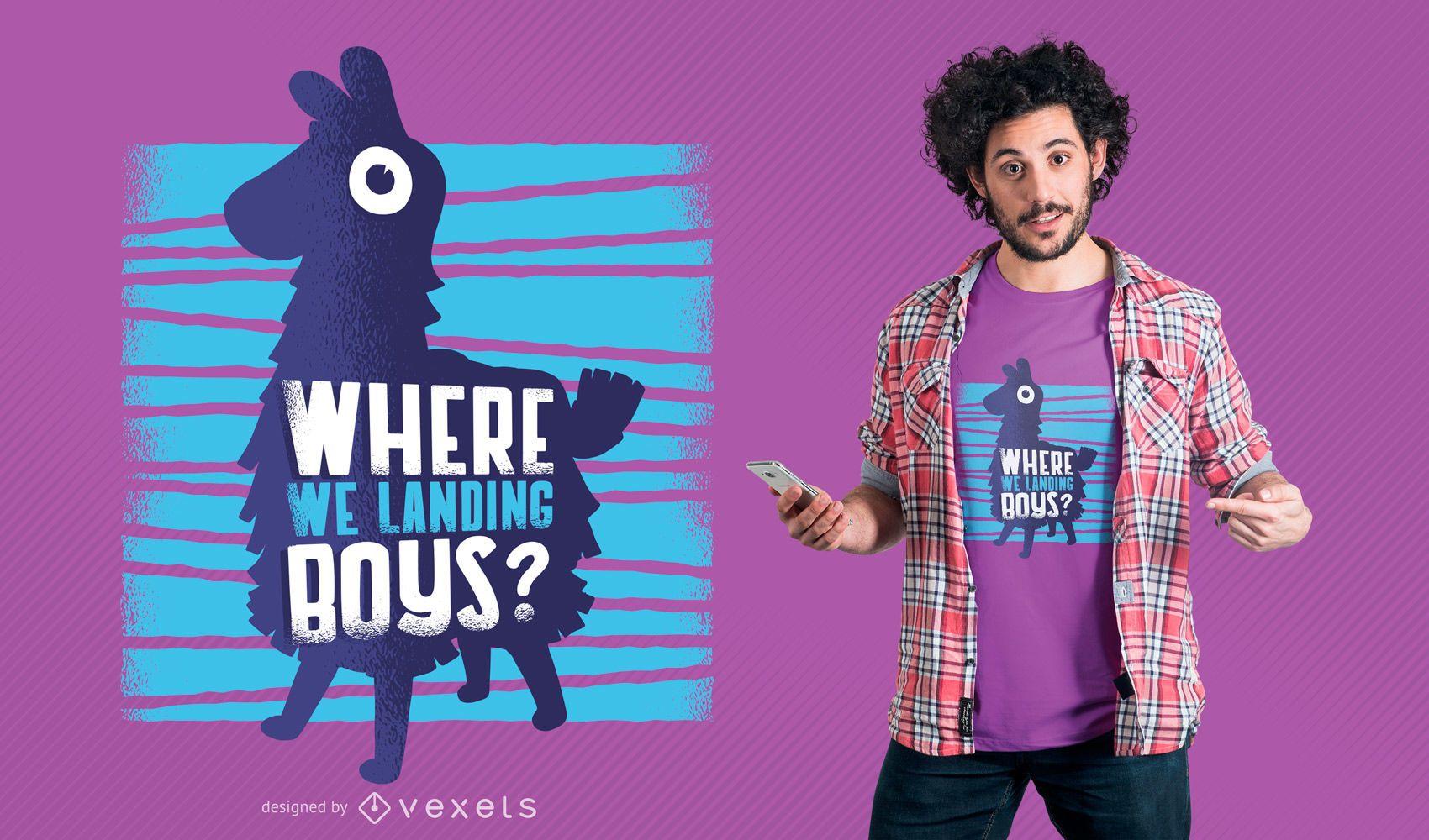 Lustiges Spielparodie-T-Shirt Design