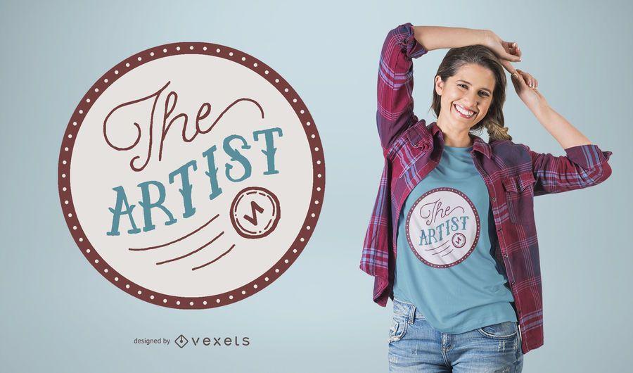 The Artist T-shirt design