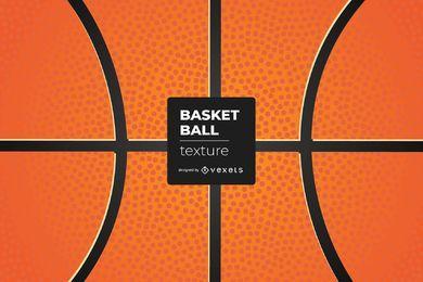 Textura detalhada de bola de basquete