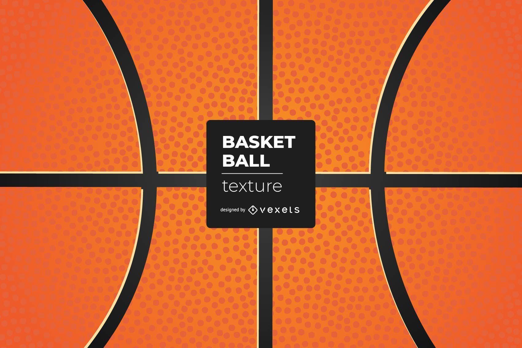 Detailed Basket Ball Texture