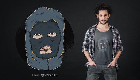 Design do Tshirt do Hooligan