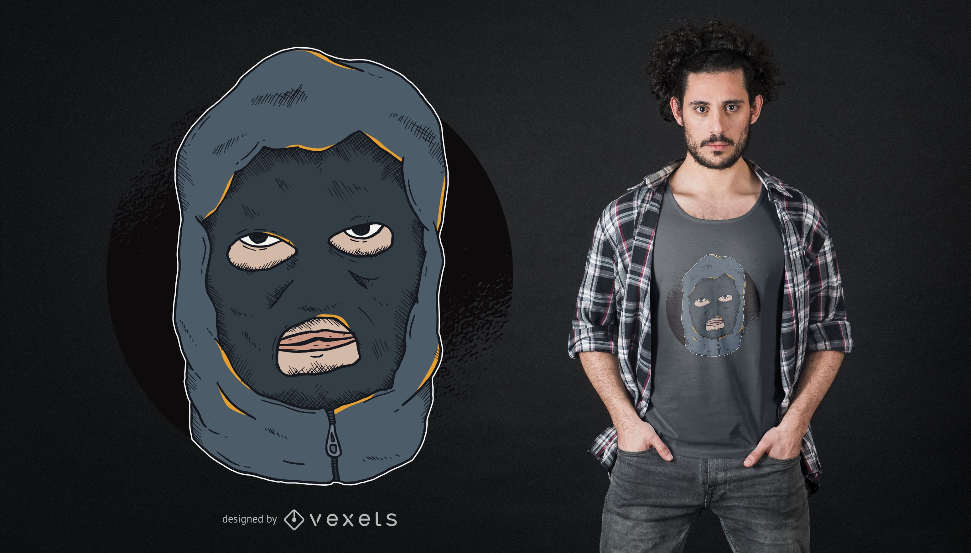 Hooligan Tshirt Design