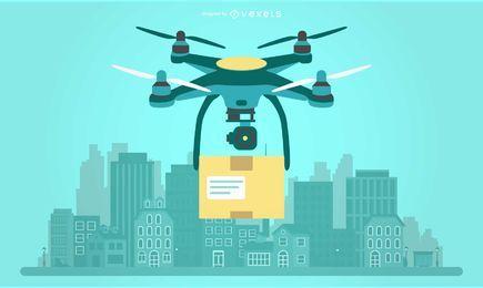 Lieferung Drohne Abbildung