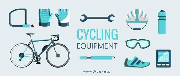 Ilustración del equipo de ciclismo Flt