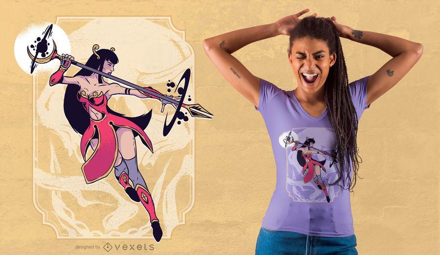 Mystic Woman T-shirt Design