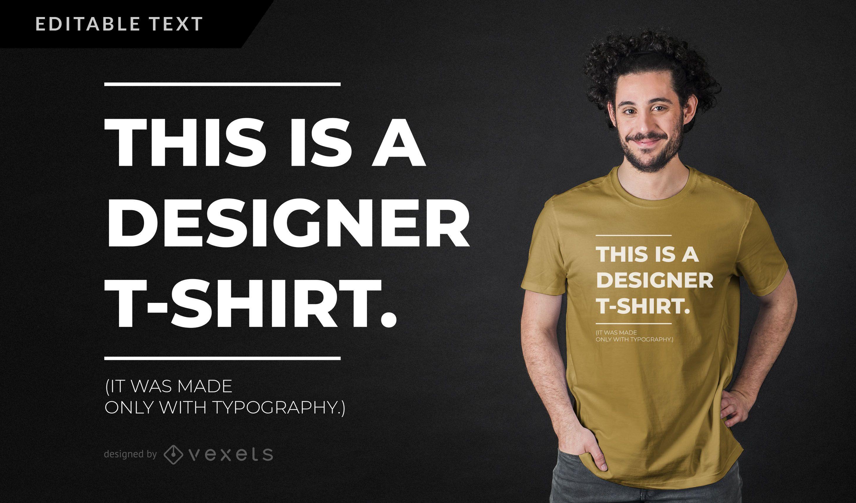 Designer Parody T Shirt Design Vector Download