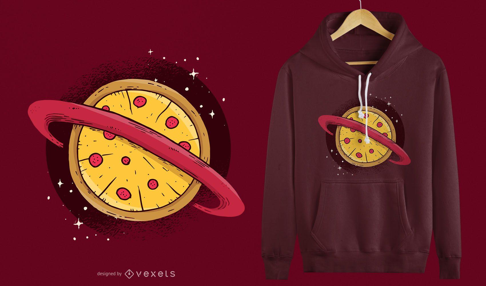 Pizza Planet T-shirt Design