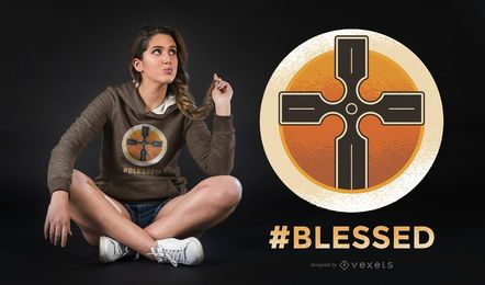 Blessed T-shirt Design