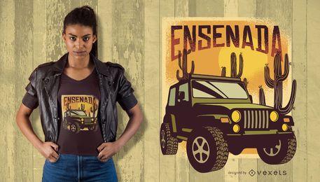 Diseño de camiseta de Ensenada