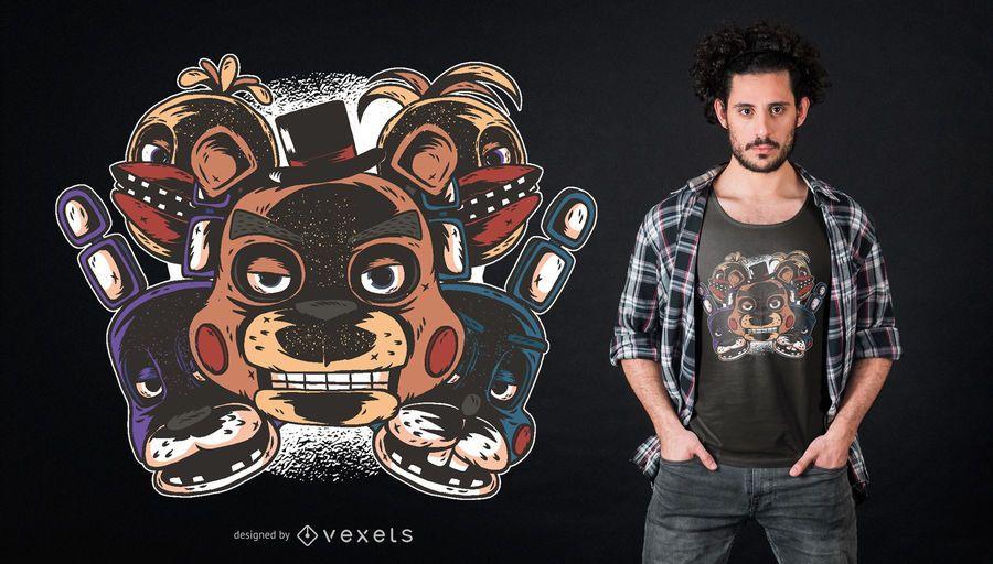 Freddys T-Shirt Design