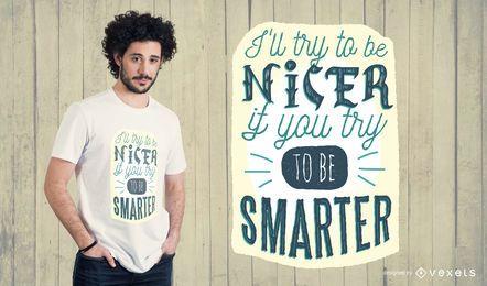 Diseño de camiseta más inteligente