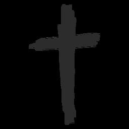 Kreuz Gekritzel