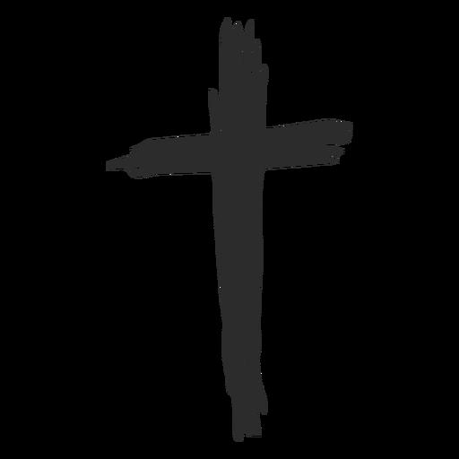 Doodle cruz Transparent PNG
