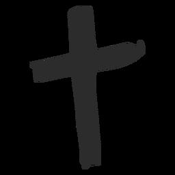 Kreuz kritzeln