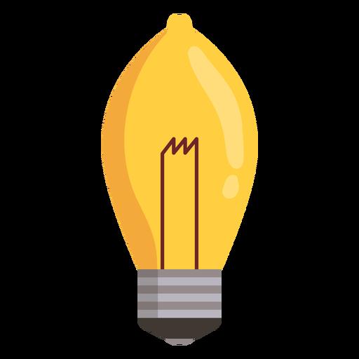 Ellipsoidal light bulb