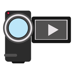 Handycam camcorder illustration