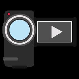 Ilustración de videocámara Handycam
