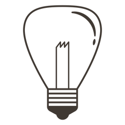 Incandescent light bulb stroke