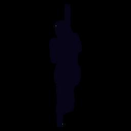 Cuerda escalada silueta crossfit