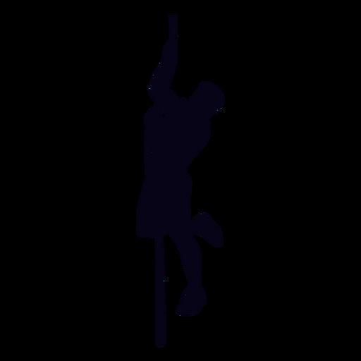 Crossfit silhouette klettern Transparent PNG