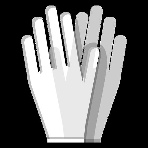 Icono de guantes de goma Transparent PNG