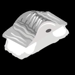 Saba mackerel sushi icon