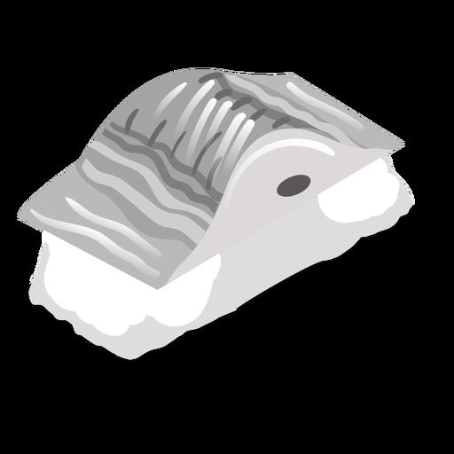 Icono de sushi de caballa saba