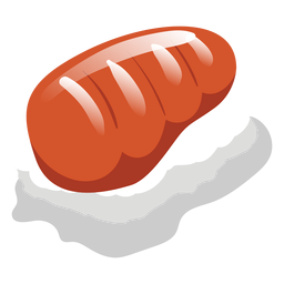 Sake salmon sushi icon