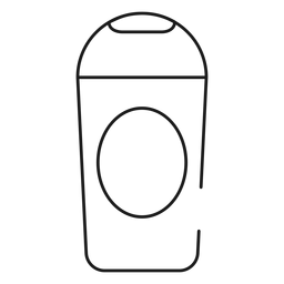 Shampoo stroke icon