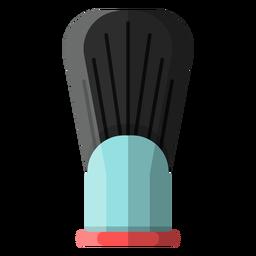 Icono de pincel de afeitar