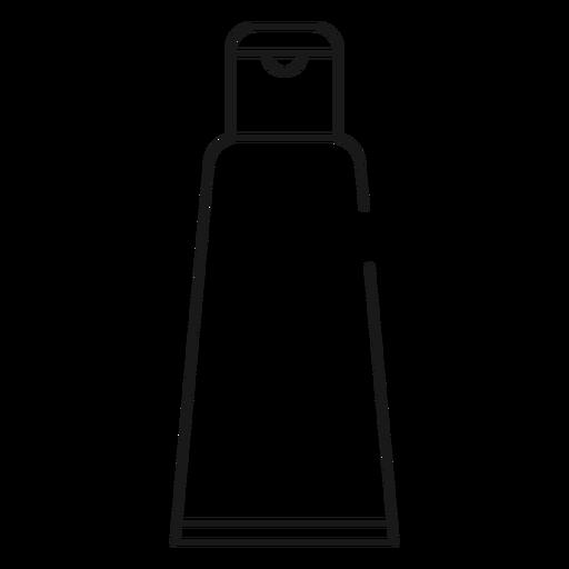 Shaving cream stroke icon Transparent PNG
