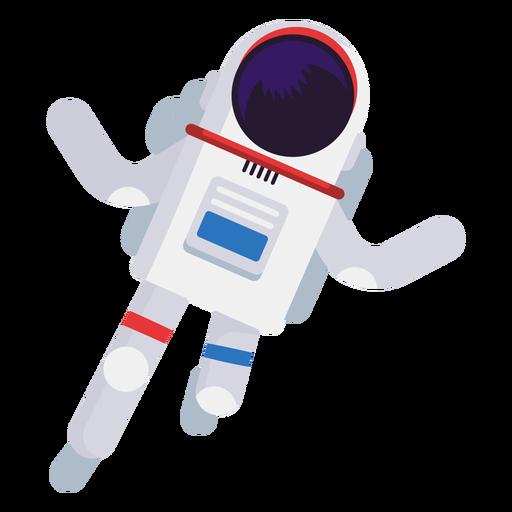 Ilustração simplista do astronauta Transparent PNG