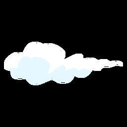 Elemento de diseño de nube de cielo