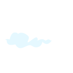 Sky cloud design element