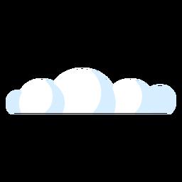 Icono de nube de cielo