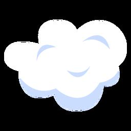 Ilustración de nube de cielo
