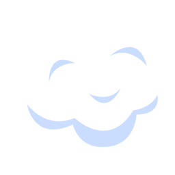 Sky cloud illustration