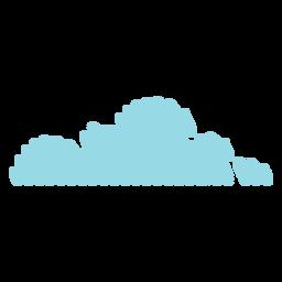 Garabato de nube de cielo