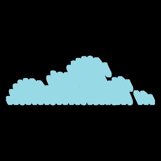 Sky cloud scribble Transparent PNG