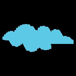 Sky Cloud Scribble-Symbol