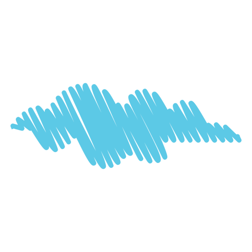 Sky cloud scribble icon Transparent PNG