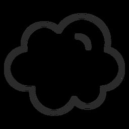Sky Cloud Schlaganfall